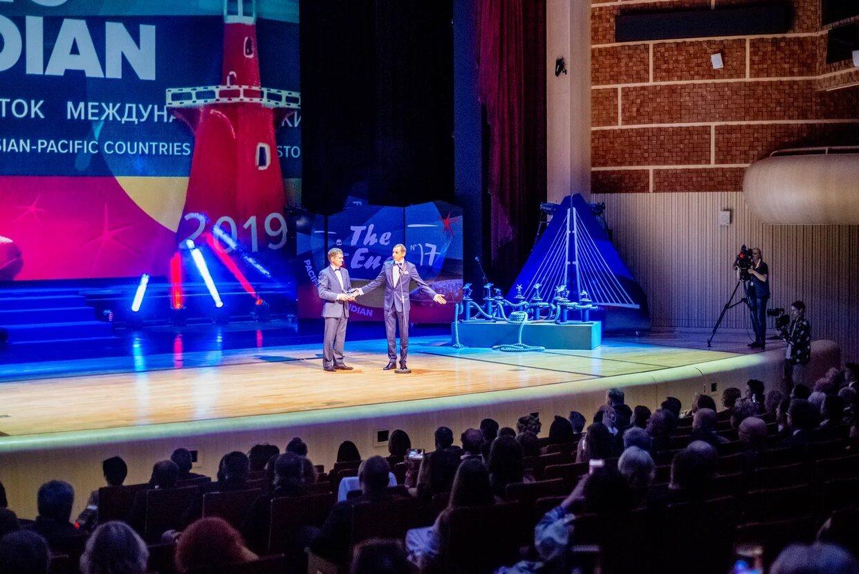 Церемония закрытия международного кинофестиваля Меридианы Тихого