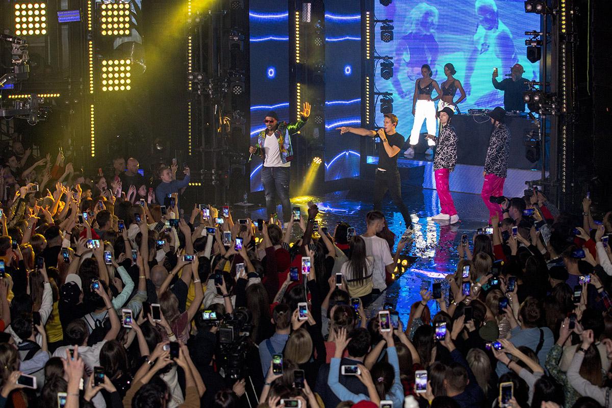 ЮрКисс и Timbaland на премьере сольной программы ЮрКисса