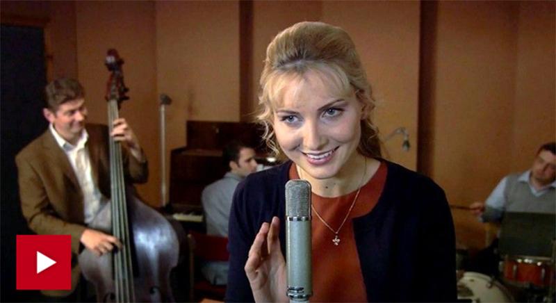 Анна Герман в эфире Пятого канала