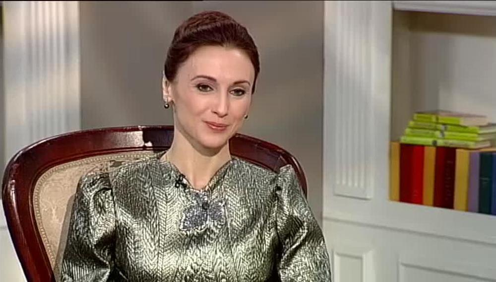 """Светлана Захарова в программе """"Мой герой"""" на телеканале ТВЦ"""