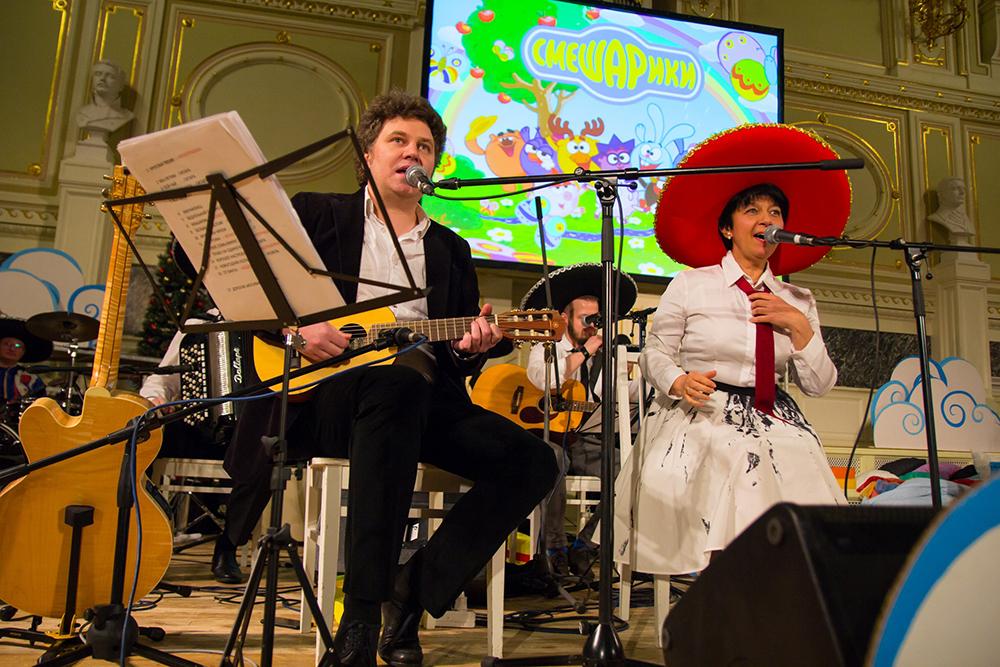 Онлайн-трансляция концерта «Квартирник у Смешариков» 4 апреля на видеосервисе «Яндекс.Эфир»