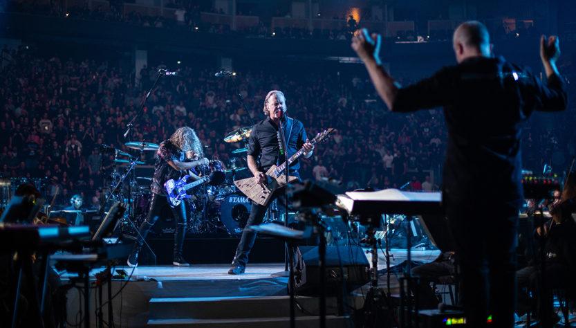 Концерт группы Metallica с симфоническим оркестром