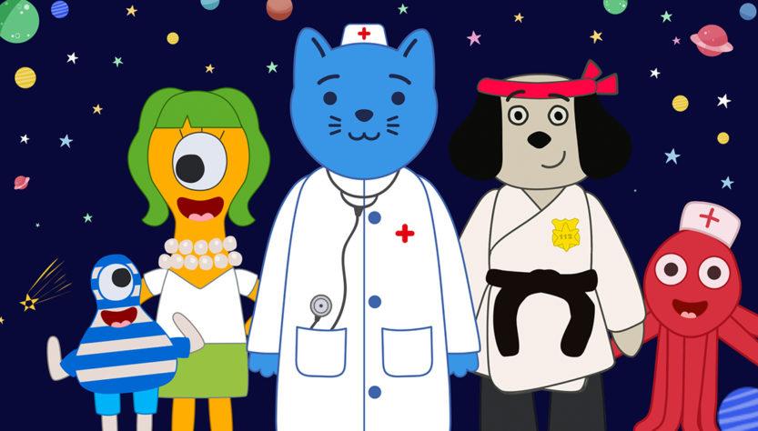 Премьера нового сезона Космический Доктор Кот
