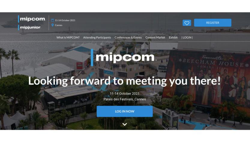 Российская делегация на MIPCOM 2021